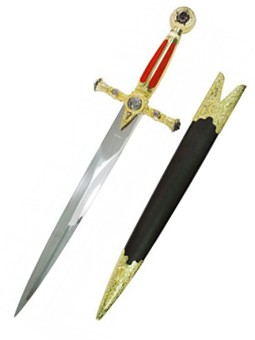 Masonic Templar Swords